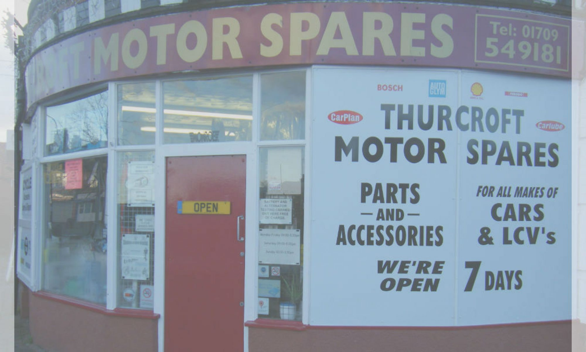 Thurcroft Motor Spares